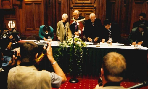 Ngāti Awa signing of the deed of settlement, a gateway for indigenous management approaches